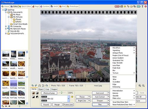 Photoscape, software gratuito di grafica