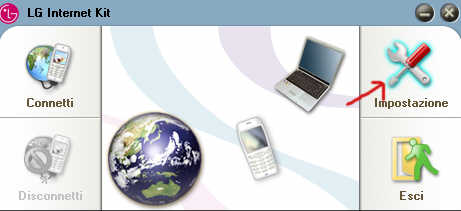 configurare connessione umts
