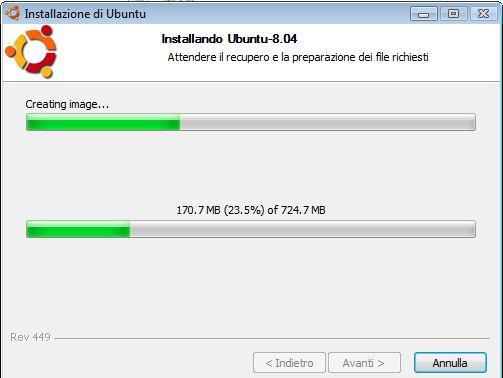 installazione di linux